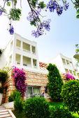 Modern villa at luxury hotel, Bodrum, Turkey — Stock Photo