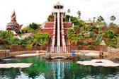 TENERIFE ISLAND, SPAIN - MAY 22: The Tower of Power water attrac — Stock Photo