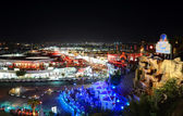 SHARM EL SHEIKH, EGYPT -  DECEMBER 1: The view on night life in — Stock Photo
