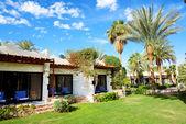 Las villas de vacaciones en el lujoso hotel, sharm el sheik, egipto — Foto de Stock