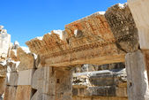 The ruins in amphitheater at Myra, Turkey — Stock Photo