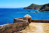 The fortress on Spinalonga Island, Crete, Greece — ストック写真