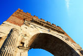 The Augustus Arch in Rimini city, Italy — Stock Photo