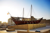 DUBAI, UAE - SEPTEMBER 10: The Dubai museum is major tourists at — Foto de Stock