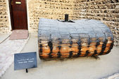 The traditional water tank in Dubai museum, UAE — Stockfoto