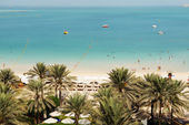 Plaj luxury hotel, dubai, birleşik arap emirlikleri — Stok fotoğraf
