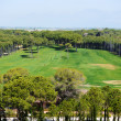 The view on golf fields, Antalya, Turkey — Stock Photo #50785399