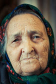 Very old woman — Stock Photo