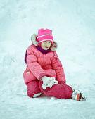 недоволен ребенка — Стоковое фото