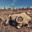 Old gas mask — Stock Photo #35600183