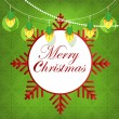 Royalty-Free Stock Vector Image: Merry Christmas garland