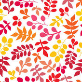 A seamless pattern with leaf — Stock Vector