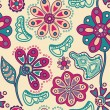 Floral seamless pattern. — Stock Vector #21078199