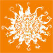 Royalty-Free Stock Imagem Vetorial: Stylized vector sun