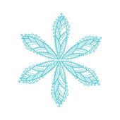 Cute ornamental flower — Stock Vector