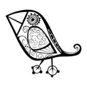Векторная птица — Cтоковый вектор