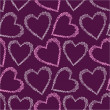 Romantic seamless pattern with hearts. — ストックベクタ #21227525