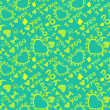 """I love you"" seamless pattern — Stockvectorbeeld"