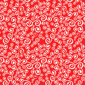 Vector seamless pattern with curly elements — Stockvektor