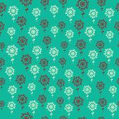 Textura floral sem costura. — Vetorial Stock