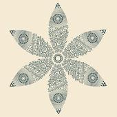 Fofo flores ornamentais — Vetorial Stock