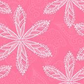 Floral naadloze textuur. lente veldboeket patroon. — Stockvector