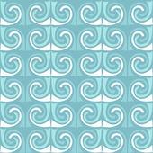 Vektorové vlny ornament. mozaika bezešvá textura. — Stock vektor
