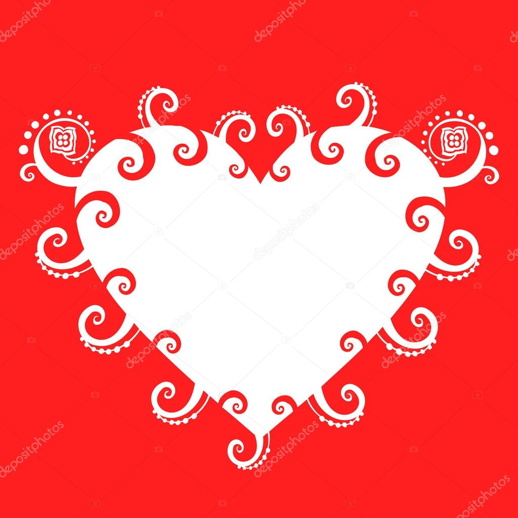 Romantic greeting card. — Stock Vector #21227557