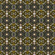 Royalty-Free Stock Vector Image: Arabesque mosaic pattern. Symmetric abstract oriental ornament background.