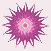 抽象花卉,为您的设计元素 — 图库矢量图片