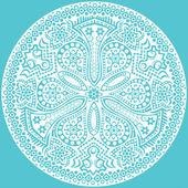 Flocon de neige vecteur original — Vecteur