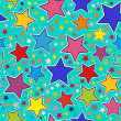 Stars seamless pattern — Stock Vector #21444833