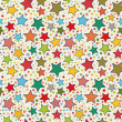 Stars seamless pattern — Stock Vector #21444841