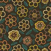 Floral seamless texture. — Stock Vector