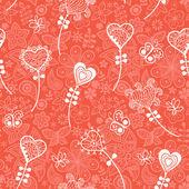 Romantic flowers — Vecteur