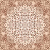 Ornamental lace pattern — Stock Vector