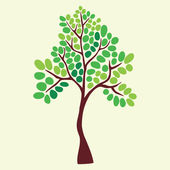 Illustration of tree. — Vector de stock