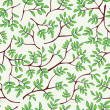 Stock Vector: Twig seamless pattern. Texture with branch.