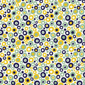 Polka-dot seamless pattern. — Stock Vector