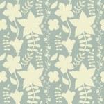 ozdobné květinové Bezešvá textura — Stock vektor
