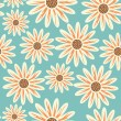 Bright floral seamless texture — Vector de stock #21619963