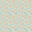 Bright floral seamless texture — Vector de stock #21619981