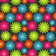 Bright floral seamless texture — Vector de stock #21619985