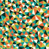 Doku üçgen ile — Stok Vektör
