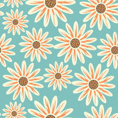 Helle floral nahtlose textur — Stockvektor