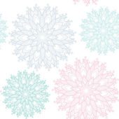 Lace seamless pattern — Vector de stock