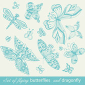 Butterfly Background — Stock Vector