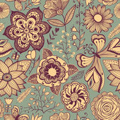 Romantic seamless pattern. — Stok Vektör
