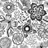 Romantic seamless pattern. — Wektor stockowy