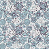 Romantic seamless pattern. — Stockvector